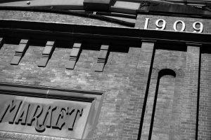 Market City facade showing 1909