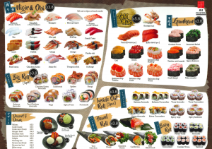 fugetsu menu