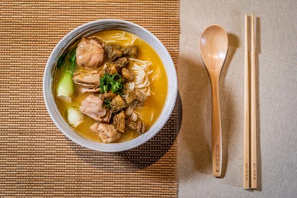 Braised Pork Trip Noodle Soup